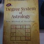Degree system of prediction oriented astrology in English